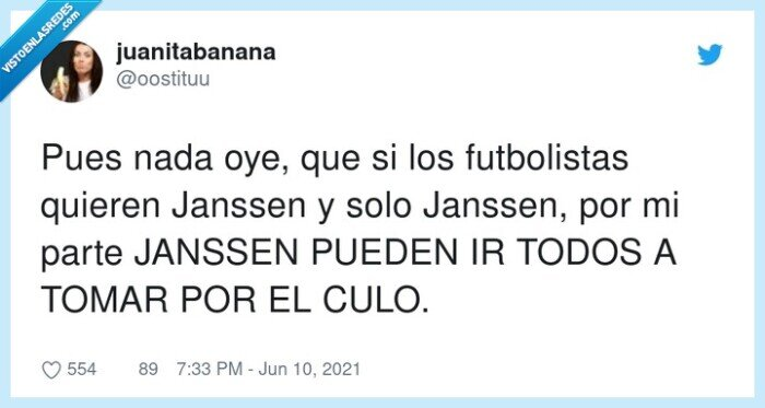 futbolistas,janssen,vacuna