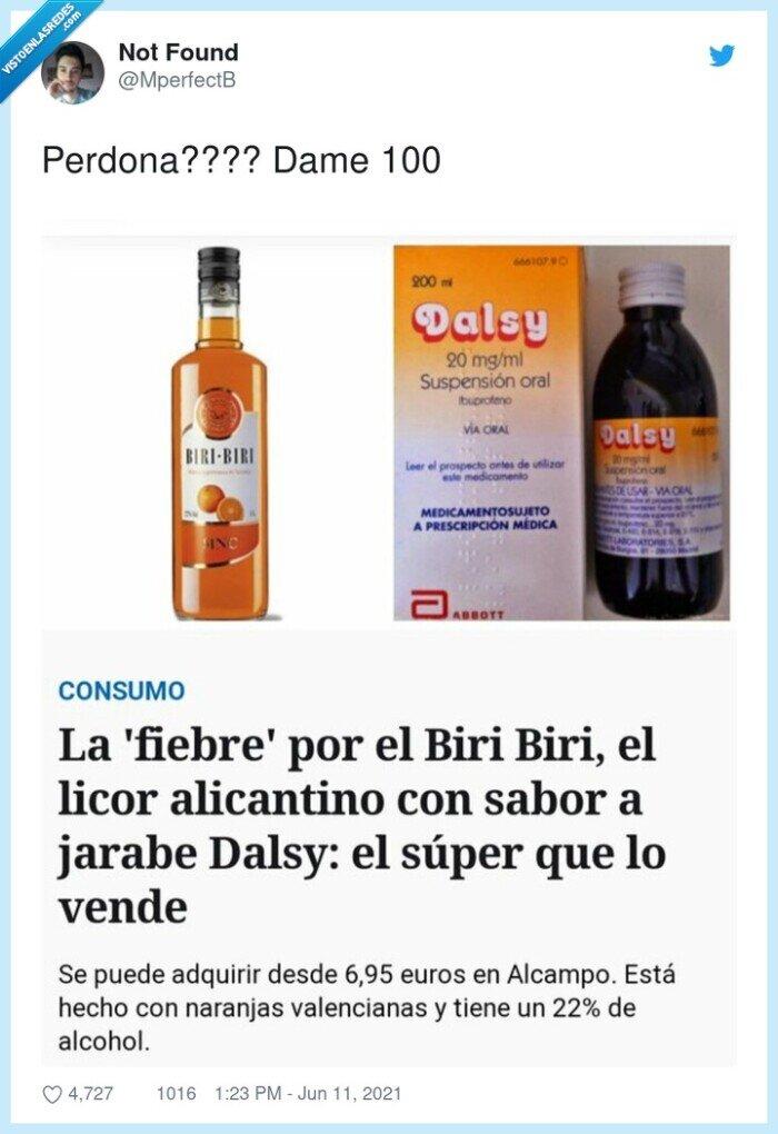 alcohol,biri biri,dalsy