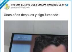 Enlace a Aún sigue haciéndose el chulo, por @NoSoyElXuloFumo