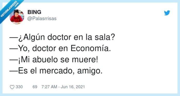 abuelo,doctor en economia,economía,mercado,morirse
