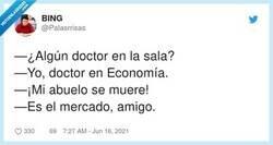 Enlace a ¿Algún doctor en la sala? ¡Mi marido se muere!, por @Palasrrisas