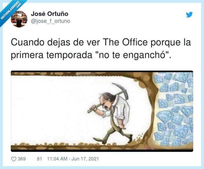 enganchar,serie,temporada,the office
