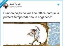 Enlace a Lo peor de The Office es el terrible duelo y sensación de orfandad en que te sumes cuando te ventilas todas las temporadas, por @jose_f_ortuno