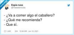 Enlace a ¿Te imaginas un camarero contestando asi?, por @Tweeterricola