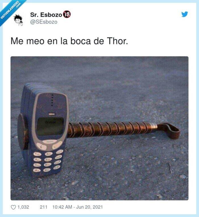 mazo,nokia 3310,thor