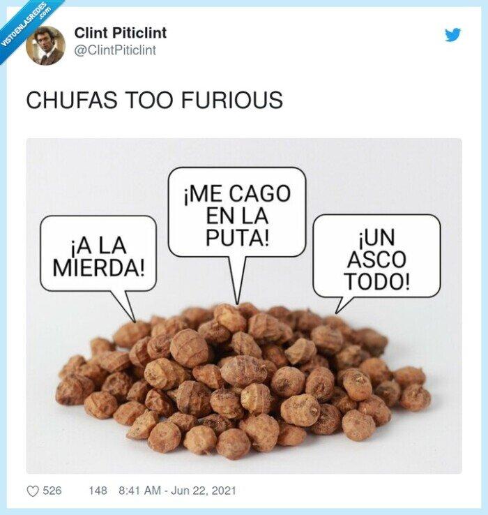 chufas,furious,too fast too furious