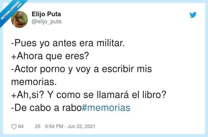 escribir,memorias,militar