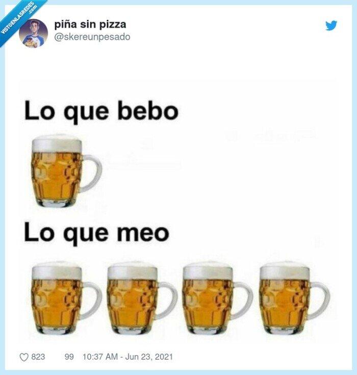 beber,cerveza,mear