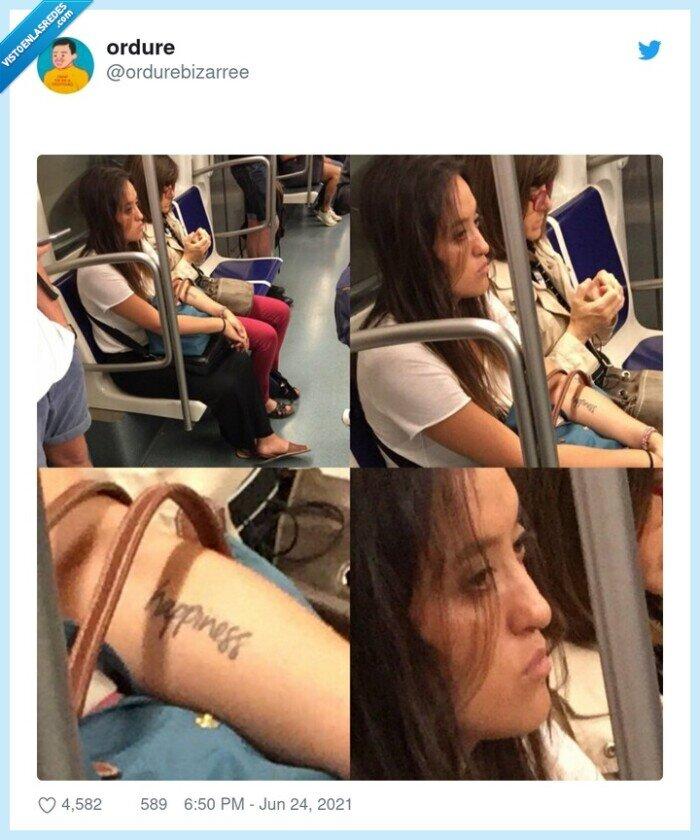 felicidad,happiness,tatuaje