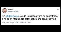 Enlace a La respuesta de Ayuso a esta queja de un ciudadano de Barcelona, por @aleqsmorales