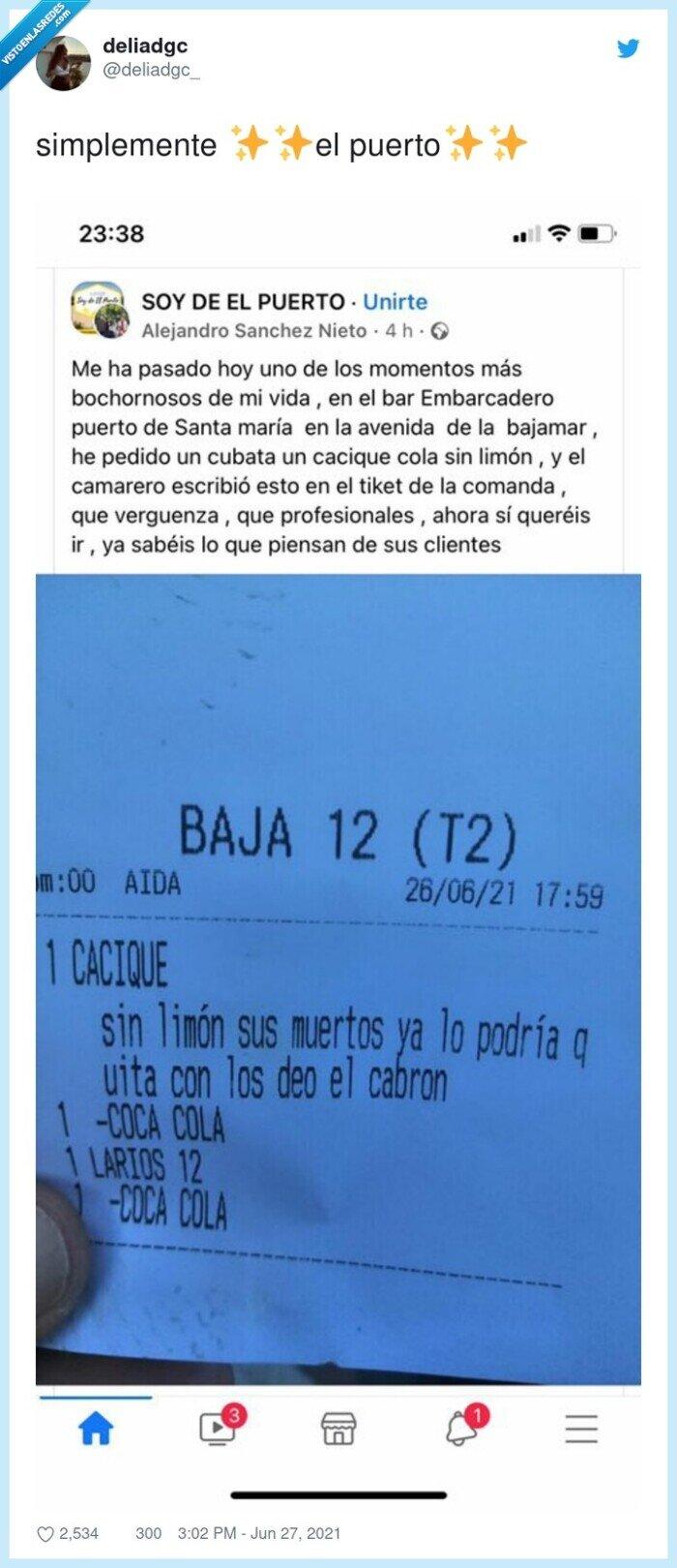 factura,mojito,ticket