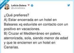 Enlace a Leticia Dolera aún cree que Canarias está situada en el mapa que estudiamos en EGB, en el recuadro debajo de Mallorca