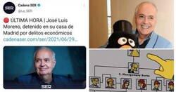 Enlace a La detención de José Luis Moreno resulta en una lluvia de memes: