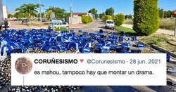 Enlace a Un camión lleno de botellines de cerveza vuelca y el drama inunda las redes sociales