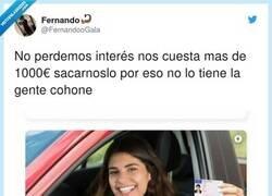 Enlace a Más el coche y ya te cagas con el seguro del coche... En fin , pero somos nosotros los que perdemos el interés, por @FernandooGala