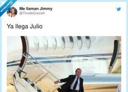 Enlace a ¡Bienvenido Julio!, por @TirodeGraciah