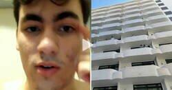 Enlace a [Humor] Ojito a este chaval encerrado en el hotel de Mallorca está indignado y según él quiere que se sepa la verdad, por @_jorgelorenzog