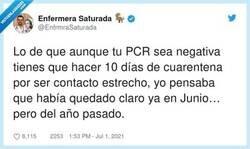 Enlace a Parece que no, por @EnfrmraSaturada