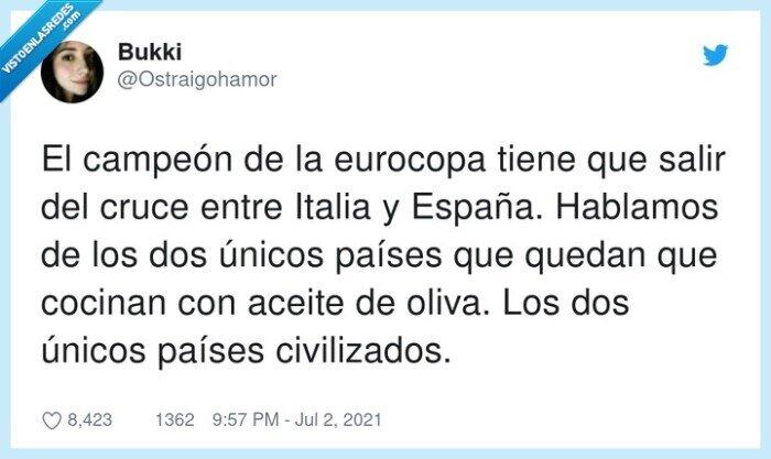 aceite de oliva,campeón,civilizados,eurocopa
