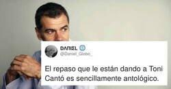 Enlace a Toni Cantó recibe un triple combo zasca por parte de tres actores españoles, por decir que él no puede hacer teatro en Catalunya , por @Daniel_Globo_