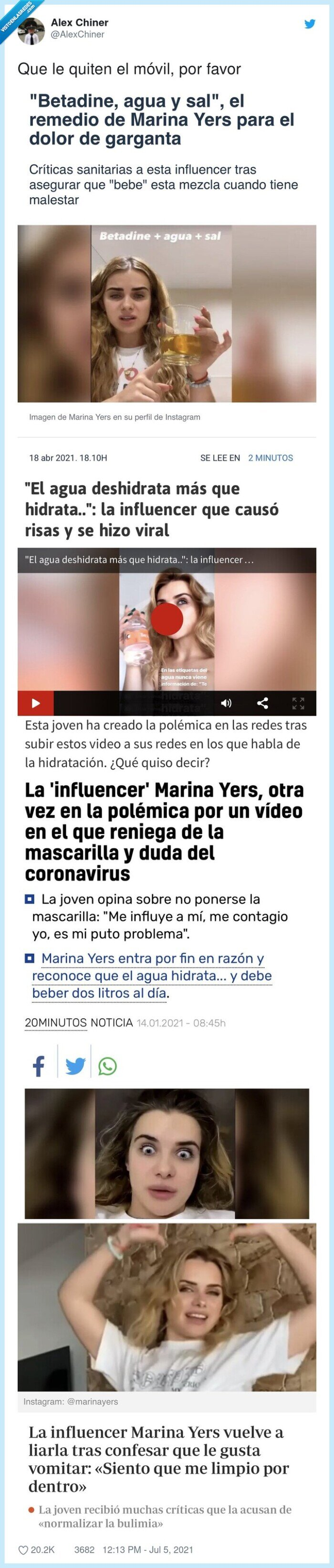 marina yers,titulares,wtf
