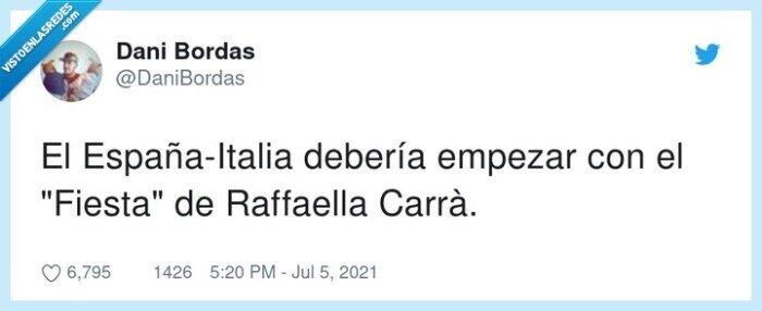 empezar,españa,fiesta,italia,raffaella carrà