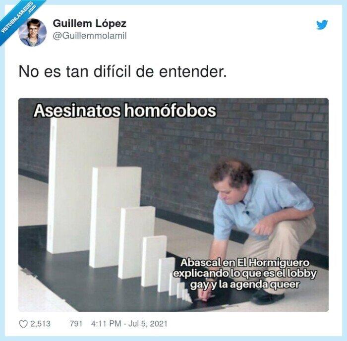 asesinato,difícil,entender,homofobia,samuel,vox