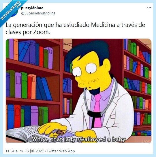 estudiar,generación,medicina,zoom