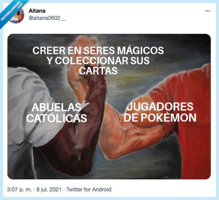 abuelas,cartas,Pokemon