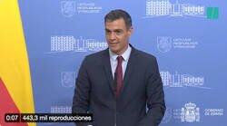 Enlace a El comentario de Pedro Sánchez haciendo referencia al vídeo de Alberto Garzón, en el que pide a los españoles que coman menos carne