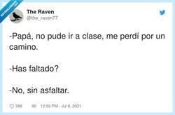 Enlace a Me perdí por un camino, por @the_raven77
