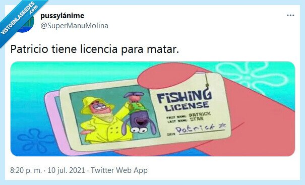 licencia,matar,patricio