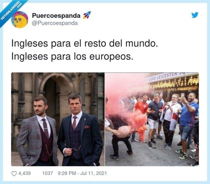 europeos,ingleses,resto del mundo,ver