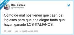 Enlace a No se puede definir mejor el sentir español, por @DaniBordas