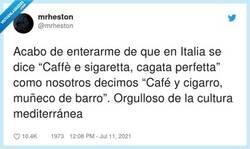 Enlace a El refrán español es ligeramente superior, por @mrheston