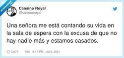 Enlace a No sé qué se ha creído, por @cansinoroyal