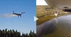 Enlace a Espectacular: Miles de peces se lanzan regularmente desde un avión para reabastecer los lagos de Utah, por @emirodmen