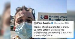 Enlace a Zasca de Lucía Extebarria a Errejón tras este vacunarse, por @mejoreszasca