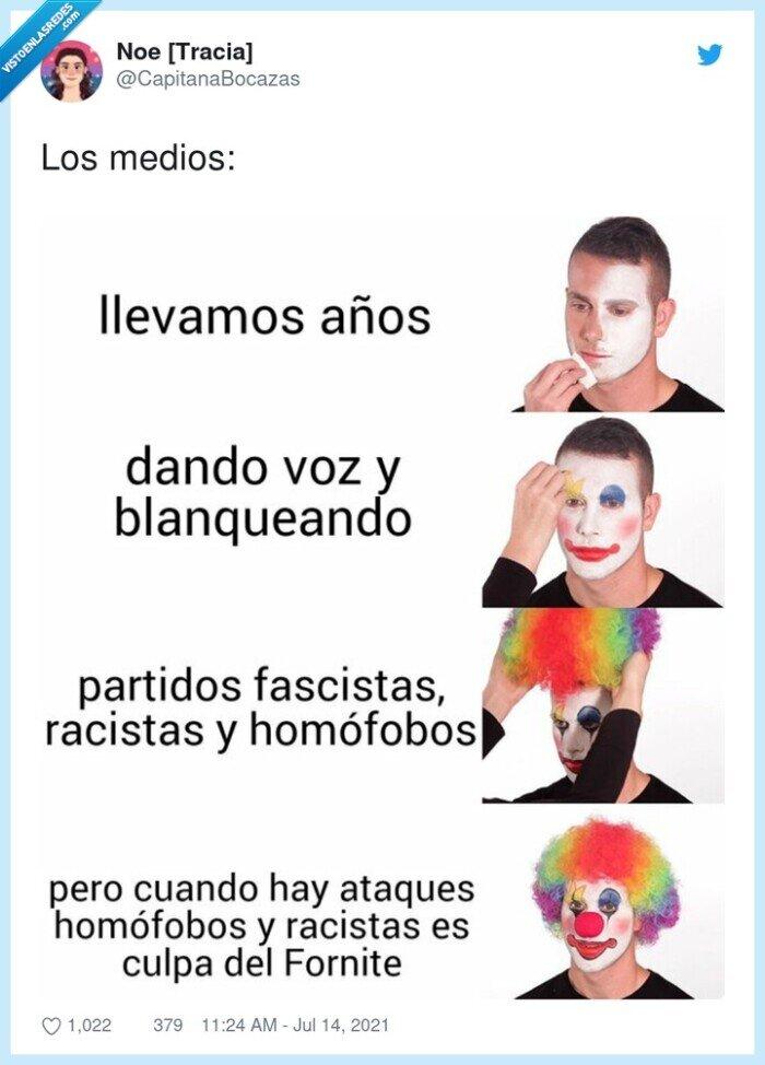 culpa,homofobia,medios