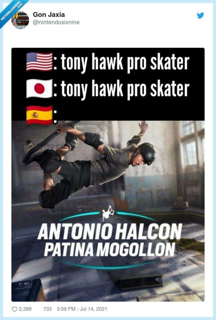 español,tony hawk,traducción