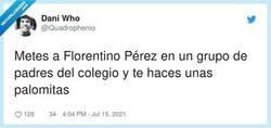 """Enlace a """"Florentino ha enviado un audio"""", por @Quadrophenio"""