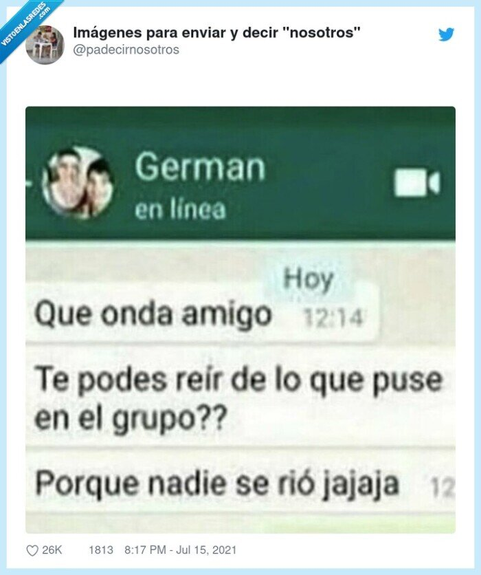 grupo,reírse,whatsapp