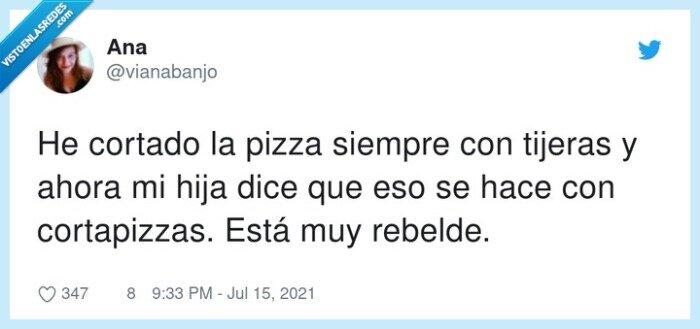 cortapizzas,cortar,pizza,rebelde,tijeras