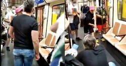 Enlace a A la gente se le va la olla: un enfermero fue agredido en Metro de Madrid tras pedir a un joven que se pusiese una mascarilla, por @EnfrmraSaturada