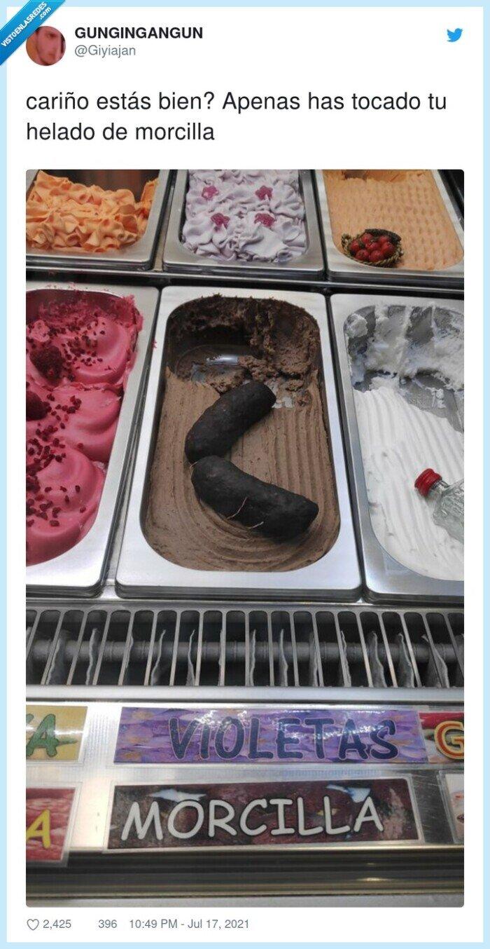 helado,morcilla,tocado