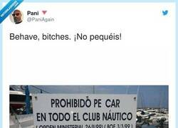 Enlace a Prohibido pecar, por @PaniAgain