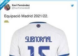 Enlace a La alineación del Madrid 21/22, por @XaviFernandezB