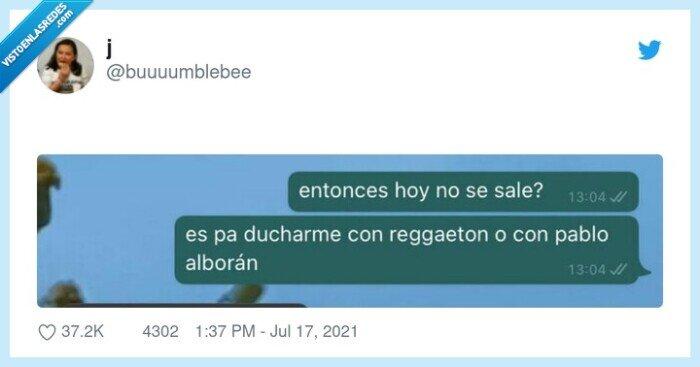 alborán,ducharse,reggaeton