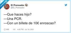 Enlace a ¿No cuela?, por @El_Prensador