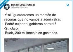Enlace a En realidad el almacenaje de vacunas se lo cobran aparte, por @BenderOfuscado